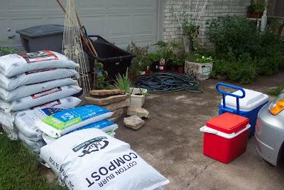 Divasofthedirt, bags of mulch