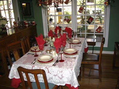 DivasoftheDirt, mindy xmas table
