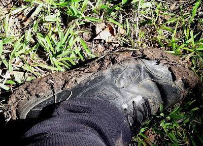 divasofthedirt muddy shoes