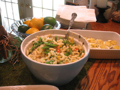 DIVASOFTHEDIRT salad, deviled eggs