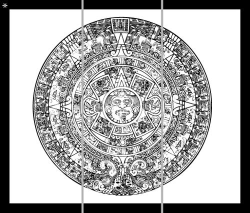 le calendrier aztec