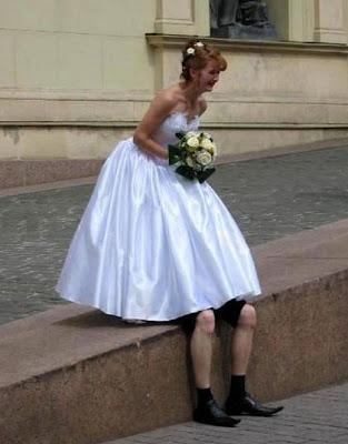 Embarrassed Bride