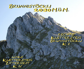 Klettersteig Rigidalstock : Klettersteig rigidalstock brunnistöckli