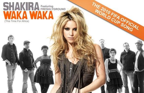 Скачивай и слушай shakira waka waka this time for africa...