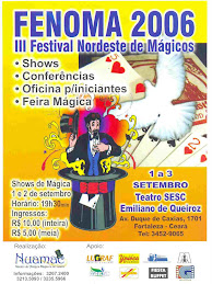 CARTAZ DO FENOMA 2006