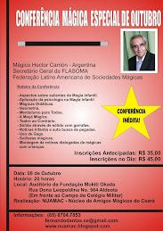 CONFERÊNCIA DE HÉCTOR CARRIÓN
