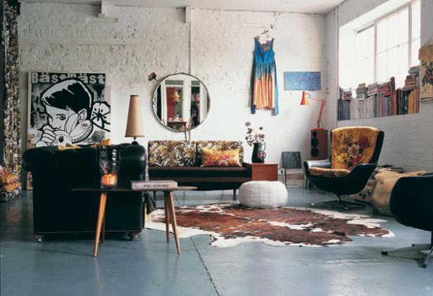 Interiors of the World: Inspiration.. Helena Christensen.