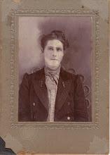 YAYA MATERNAL GREAT GRANDMOTHER - MOTHER OF CORA AGNES ROWAN PERRY