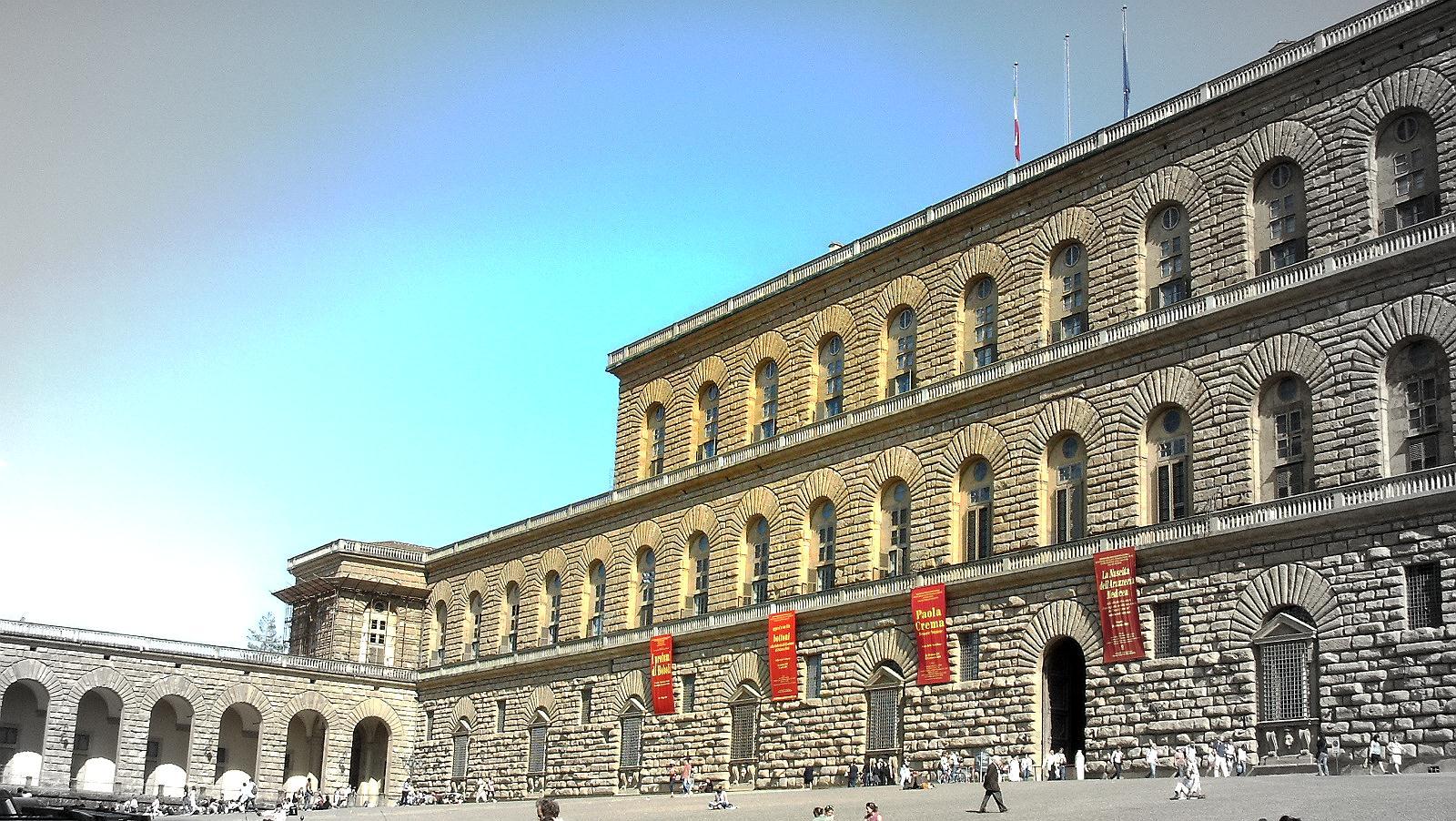 Itinerari valdirose il complesso di palazzo pitti firenze for Palazzo pitti orari