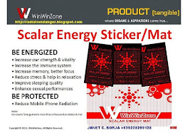 SCALAR ENERGY STICKER/MAT