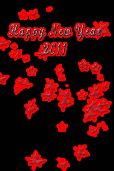 Happy New Year 2011 Greeting Card Dwnload