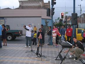 D.O.G. Compartiendo en la ciudad de Otavalo