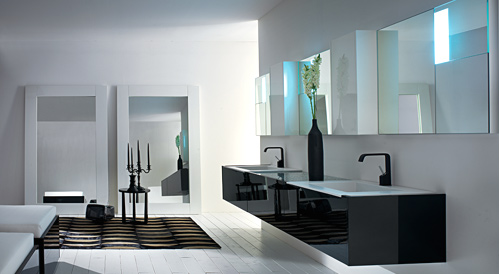Decore contempor neo e banheiros modernos for Photos of contemporary bathrooms
