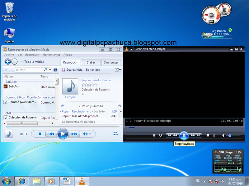 descargar reproductor de windows media player 12