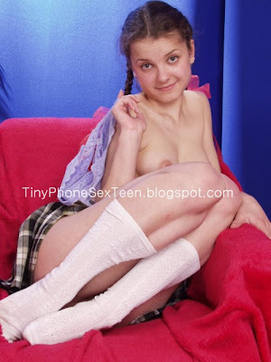 Do you love schoolgirl phone sex? This naughty little girl takes her panties ...