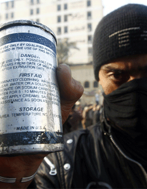 tear gas made in usa