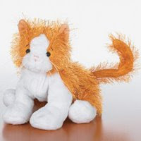 gold and white cat retired webkinz