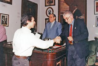 Ingreso de Gustavo Sorg a la Junta de Historia de Corrientes