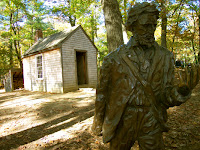 Replica of Thoreau's cabin