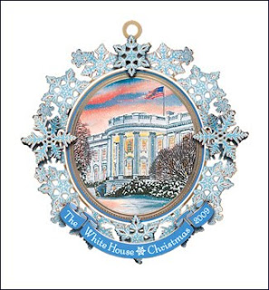 2009 White House Ornament