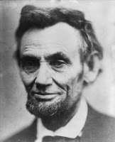 Portrait of Lincoln President of the United Satates
