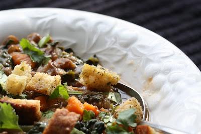 Food Connections: The Soup Project: Deborah Madison's Rustic Lentil Soup