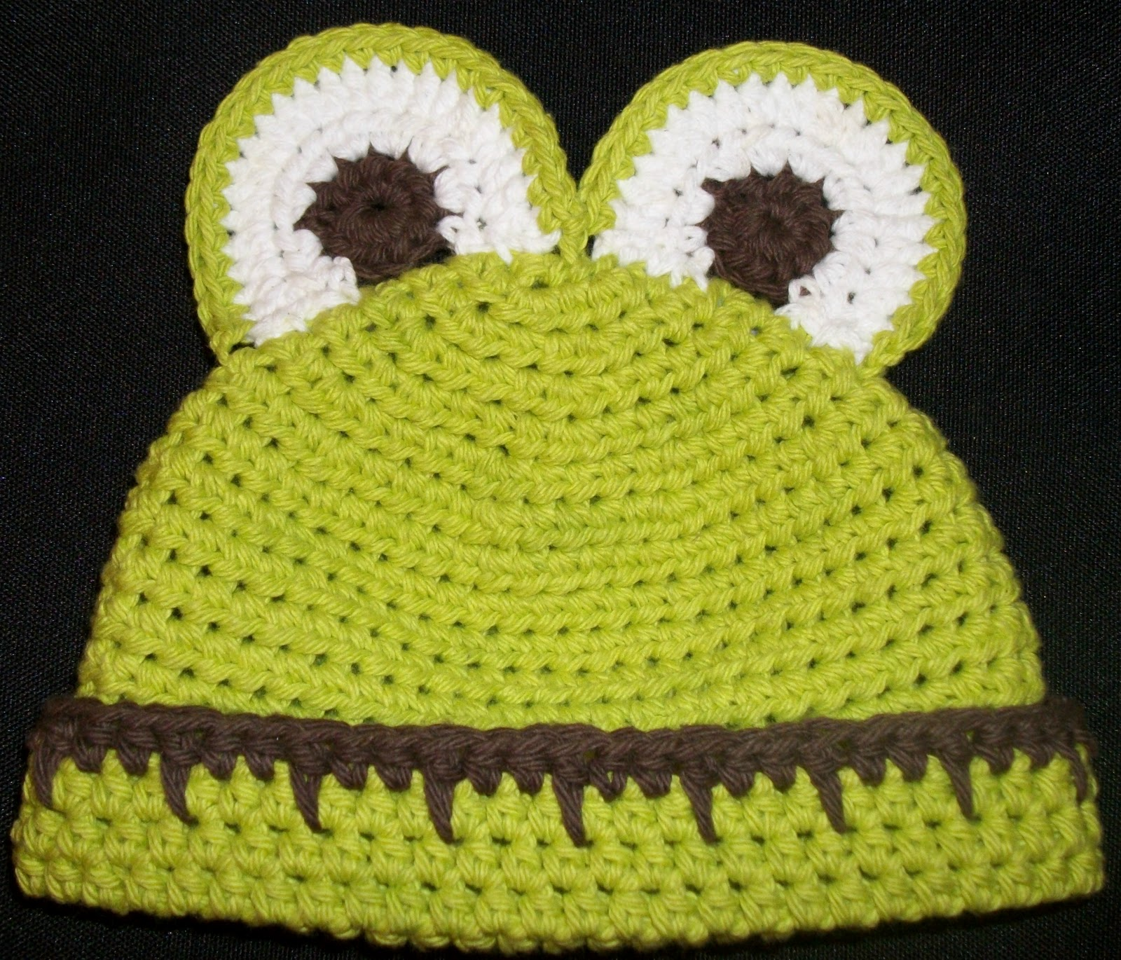 Free crochet pattern for frog hat traitoro for hyphenated overextended frog and bear hat pattern free crochet bankloansurffo Gallery