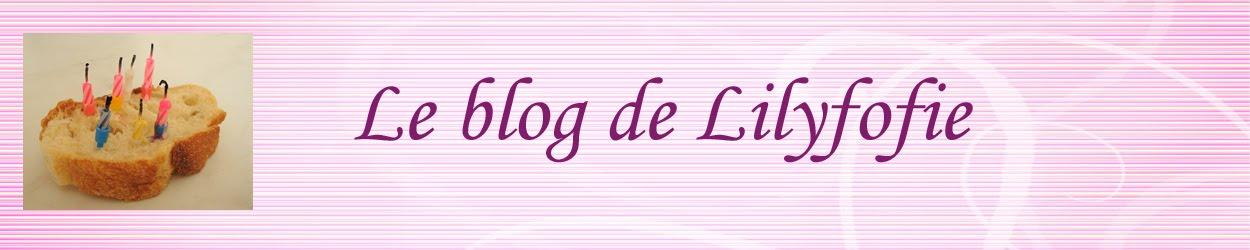 Le blog de Lilyfofie
