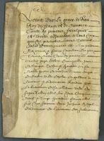 Arrêt pour demoiselle Jeanne de Laugier héritière de feu noble Pierre de Verdier