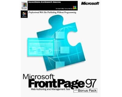 front page de microsoft: