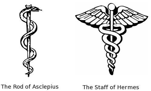สัญลักษณ์ งู ถ้วยยา ไพ่ยิปซี ไพ่ทาโรต์ caduceus staff of hermes แพทย์ รักษา สัญลักษณ์ การแพทย์ ยารักษาโรค เภสัชกร asclepius