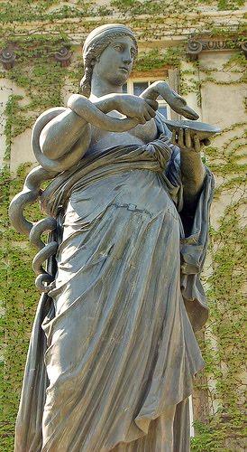 ไฮเจีย เทพเจ้า กรีก Hygieia ไฮจีเอีย Greek Hygiea มหาเทพ Hygeia เทพีกรีก