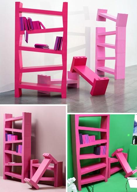 Home Interiors Blog: 53 Contemporary & Creative Book Shelves