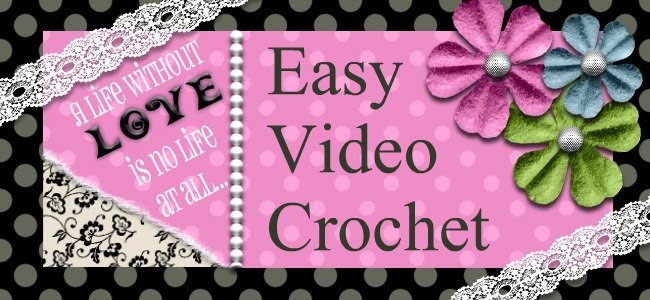 Easy crochet tips and videos on how to crochet.