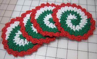 Pinwheel Coaster EASY Crochet Pattern | eBay