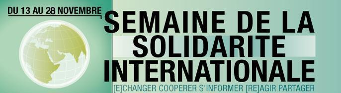 Semaine de la Solidarité Internationale