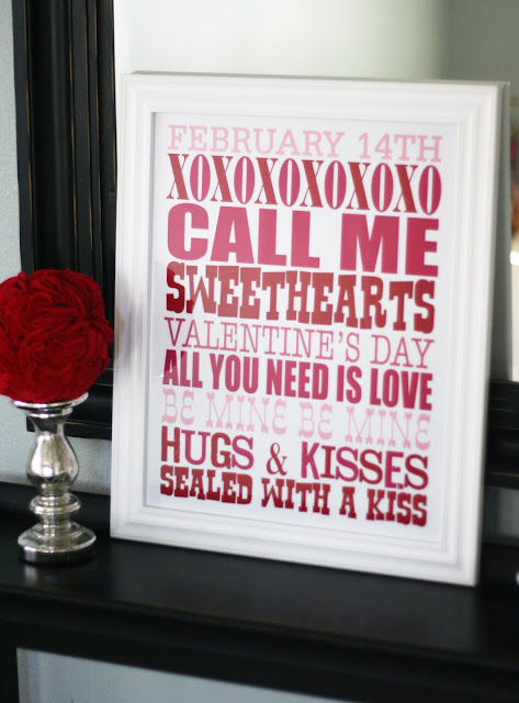 Valentine\'s Day Decor Ideas - Classy Clutter