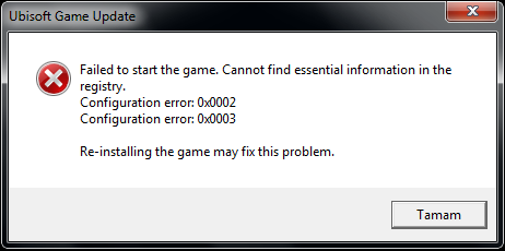 ubisoft game launcher error code 2 ac2