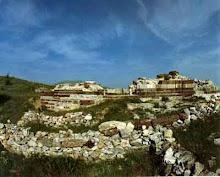 Ruinele orasului medieval sarbesc Novo Brno ( regiunea Kosovo)