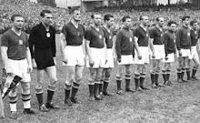 UNGARIA 1954 ( Puskas,Grosics,Lorant,Hidegkuti,Bozsik,Zaharias,Lantos,Buzansky,Toth,Kocsis,Czibor)