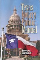 Texas Notary Public Manual