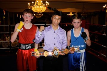 Shinny Bayaar current British Flyweight Champion