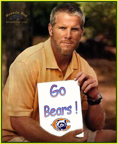 brett favre pictures text. That text excited me at first.