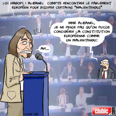 hadopi CDG 23 : rappels de principes vs lobbying