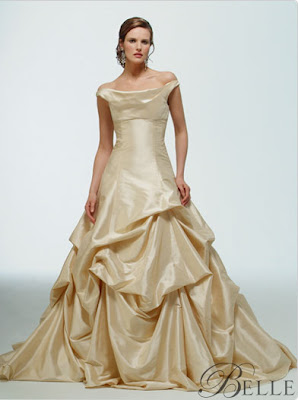 A More Modern Version Of The Lovely Belle Gown By Platinum For Priscilla Boston