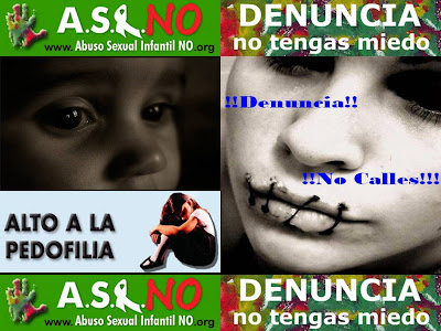 No al abuso sexual Infantil