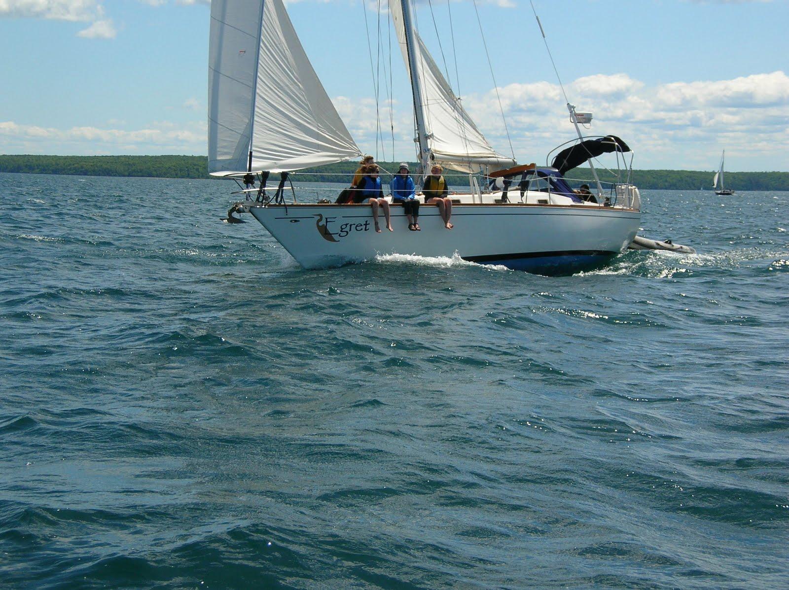 Teen sailing trips