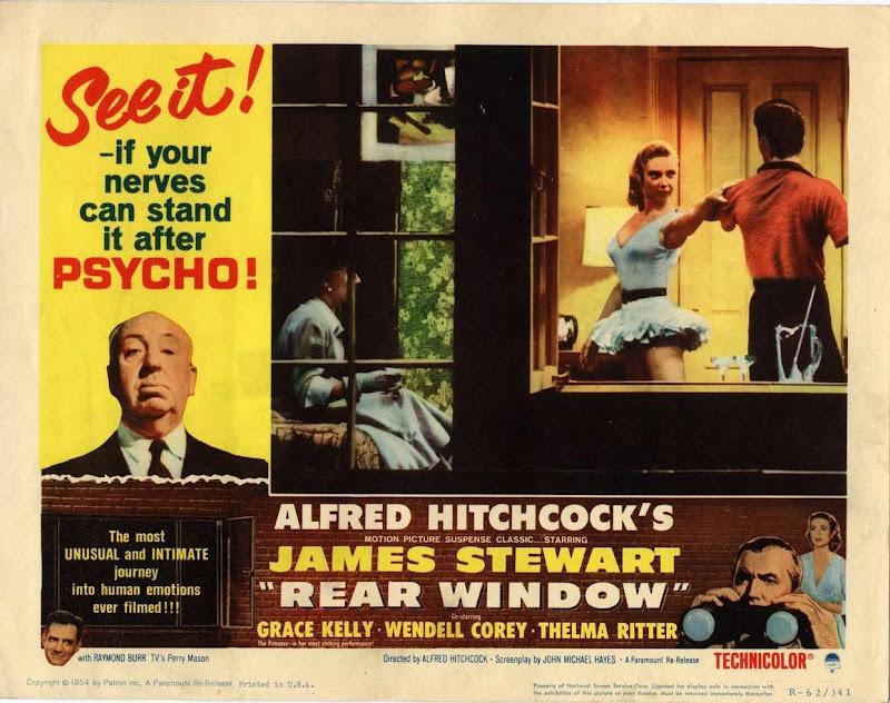 Classic movies rear window 1954 for 1954 rear window
