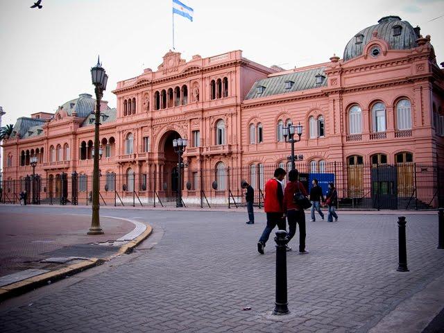 Casa Rosada (Goverment Building)
