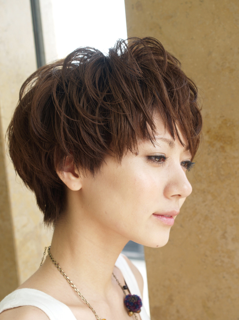 beautiful hair, short hair styles, short haircuts round face, medium short haircuts, medium haircuts, black short haircuts, short curly haircuts, short haircuts 2010, short haircuts-37
